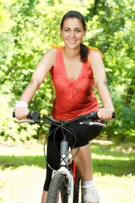 Ontspannen op de fiets