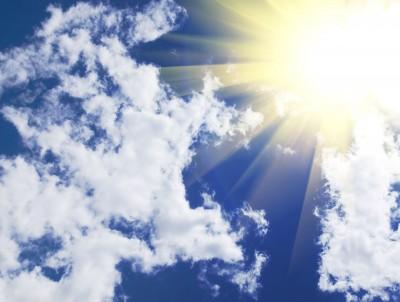 De zon voed je ogen