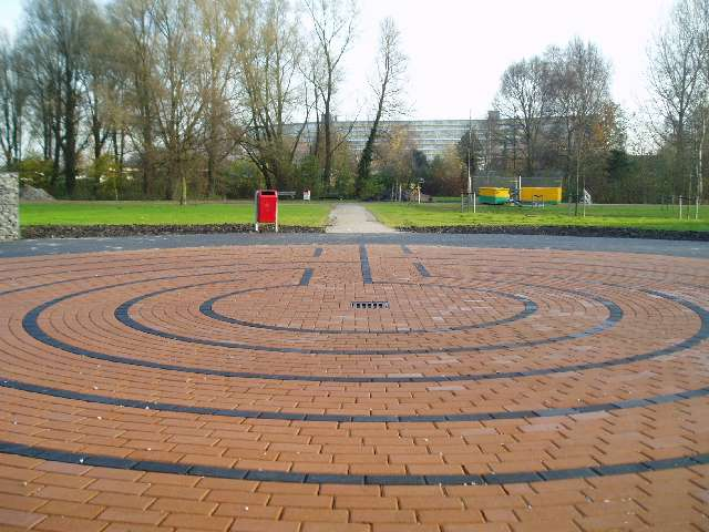 labyrinth in Zaandam
