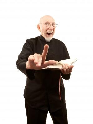 Met vuile brillenglazen prediken